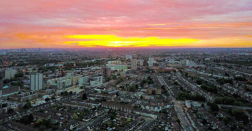 Essex skyline