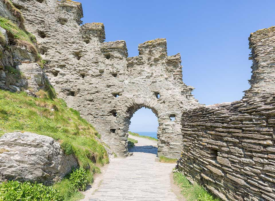 Tintagel Castle- Cornwall