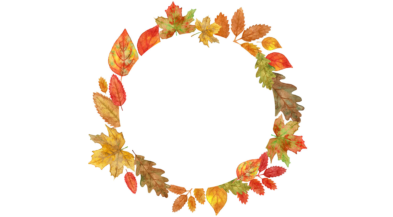 Autumn Leaf Circle