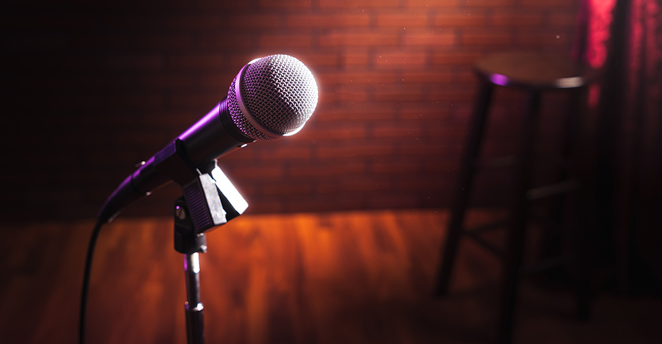 Comedy Evening- Microphone
