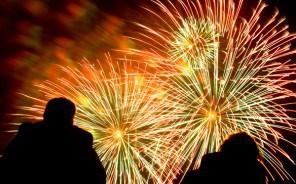Taverham fireworks